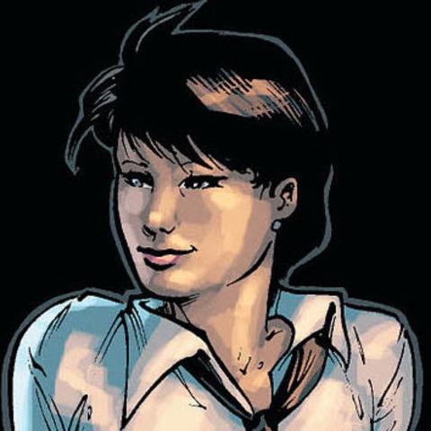 A medium shot of Alysia Yeoh. Alysia is a transgender comic character in Batgirl.