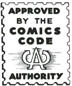 Comics Code Authority Logo